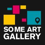SoMe Art Gallery Logo in black