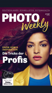 Cover of Magazine PhotoWeekly