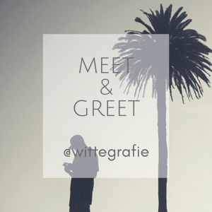 Meet and Greet Text with image from wittegrafie