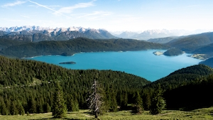 walchensee lake bavaria