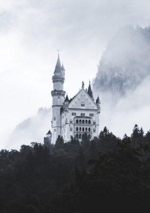 Neuschwanstein castle by lorenz weisse