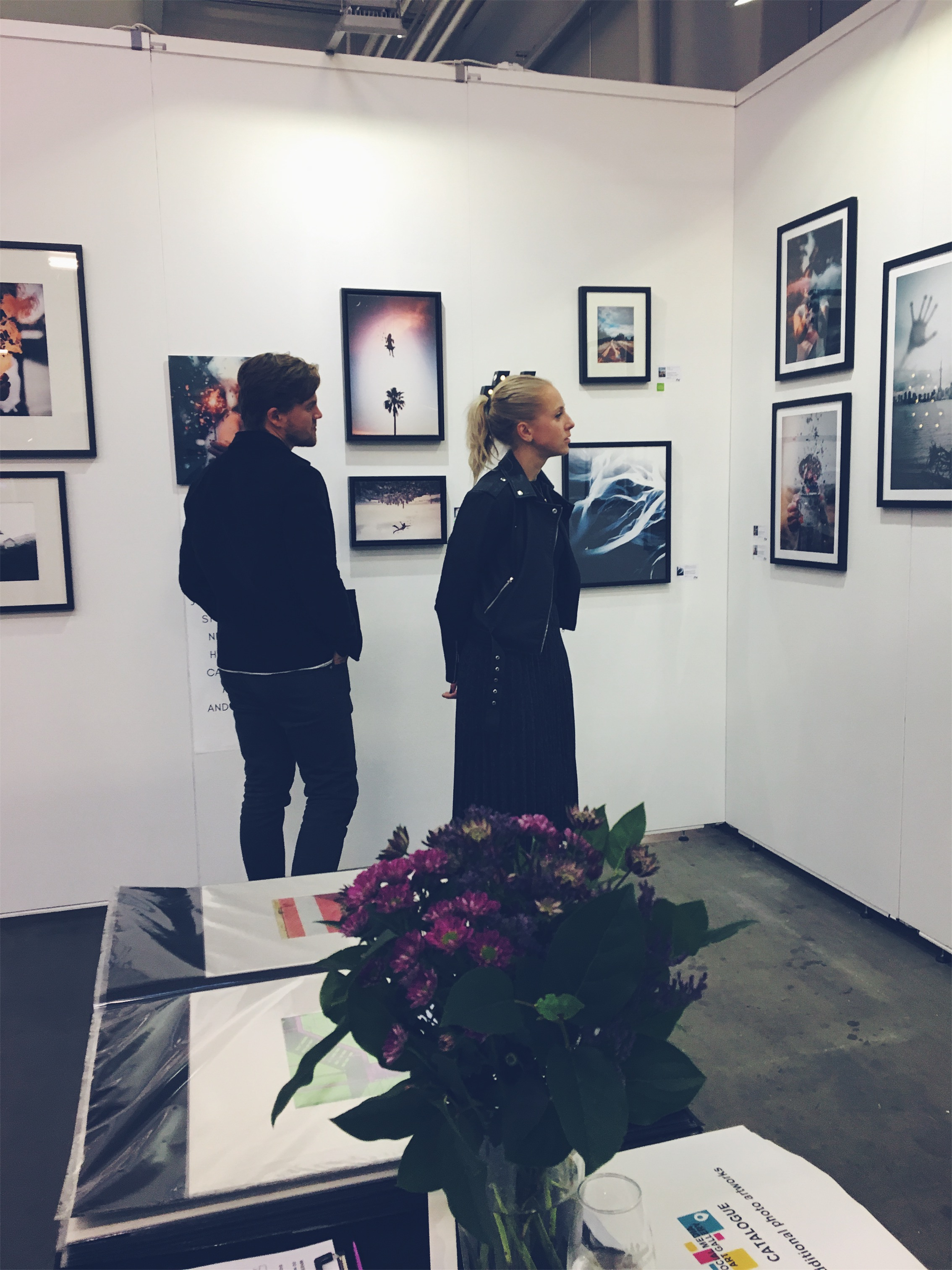 Visitors of Social Media Art Gallery