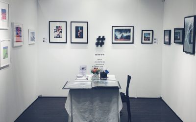 AAF booth of Social Media Art Gallery in New York