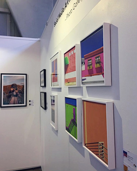Affordable Art Fair Stockholm 2018 artworks of Social Media Art Gallery