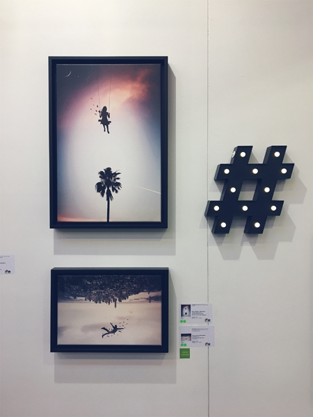 Affordable Art Fair Stockholm 2018 artist June Lawrence of Social Media Art Gallery