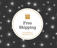 Free Shipping_Social Media Art Gallery in December and January 2019