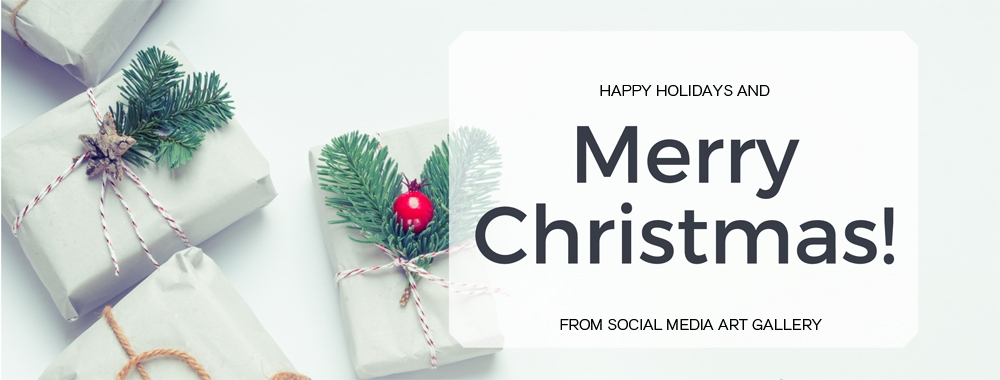 Merry Christmas from Social Media Art Gallery