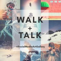 Walk and Talk with Social Media Art Gallery