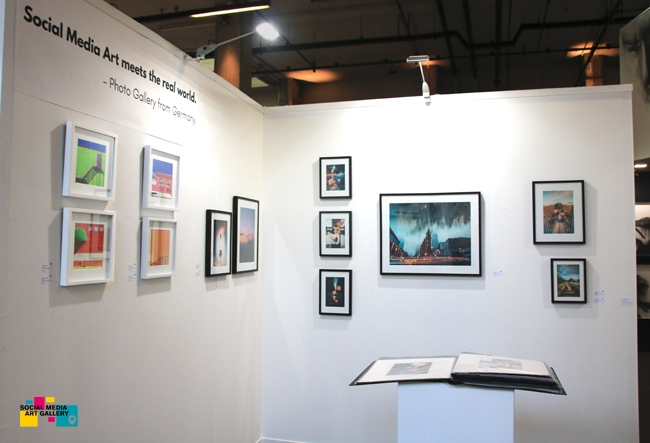 booth of Social Media Art Gallery in Johannesburg TAF