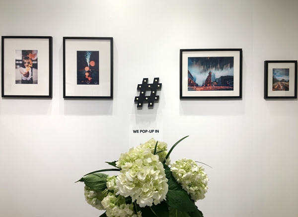 artworks of social media art gallery at affordable art fair new york city