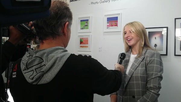 anna stoffel interview at the turbine art fair
