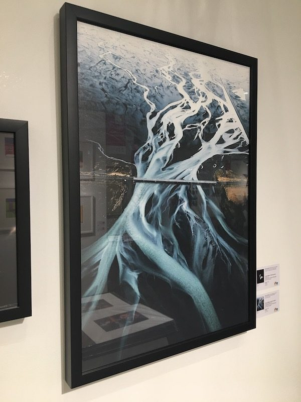 Lorenz Weisse Icelandic waters photo framed