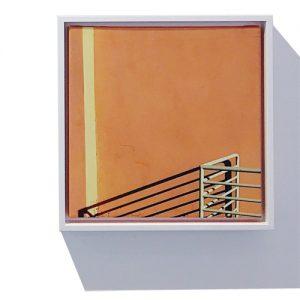 orange wall by rusty wiles