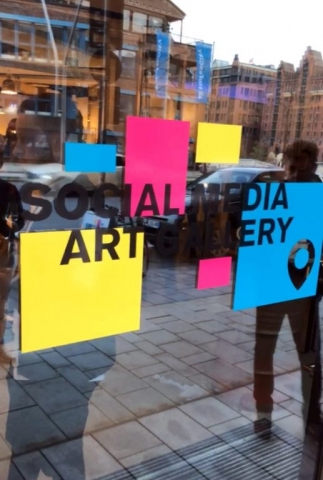 logo of social media art gallery