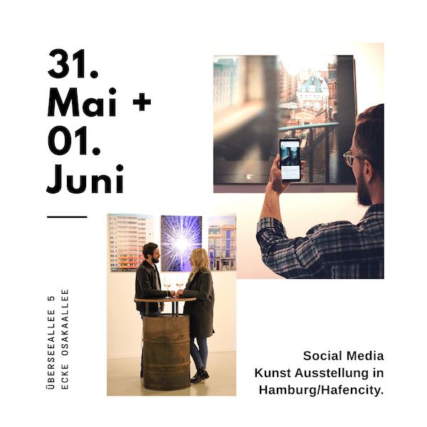 ausstellung 31 Mai und 1 Juni 2019 in Hafencity Hamburg