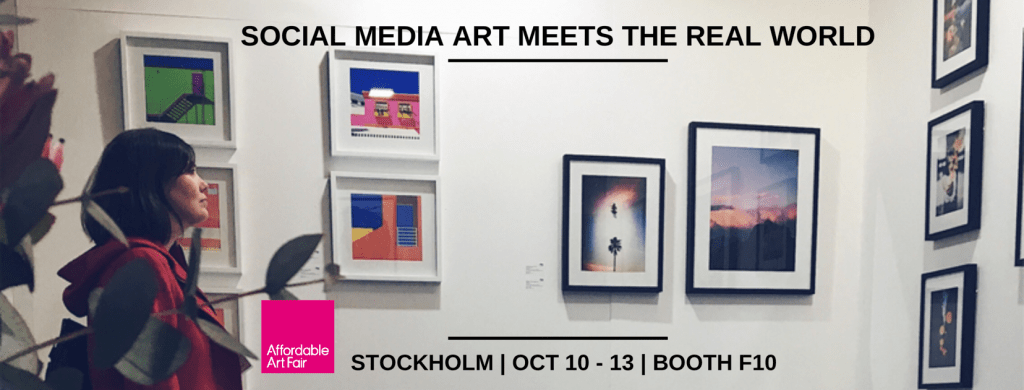 social media art gallery exhibit in stockholm