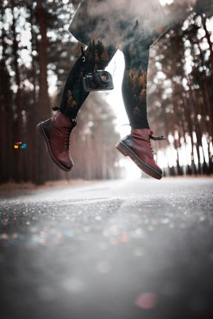 jumping legs photography