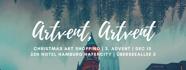 advent art event 25hours hotel shopping