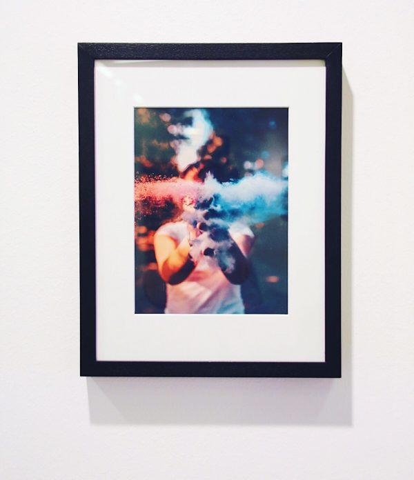 framed artwork klatsch by cinnaavox