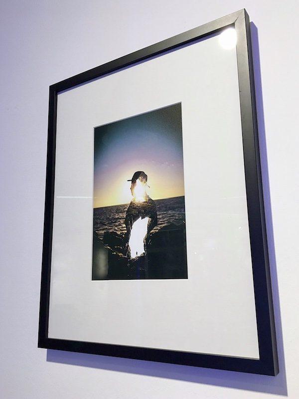 framed picture inner sunset